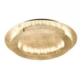 Złota lampa sufitowa plafon żyrandol PAUL NEUHAUS NEVIS 9621-12