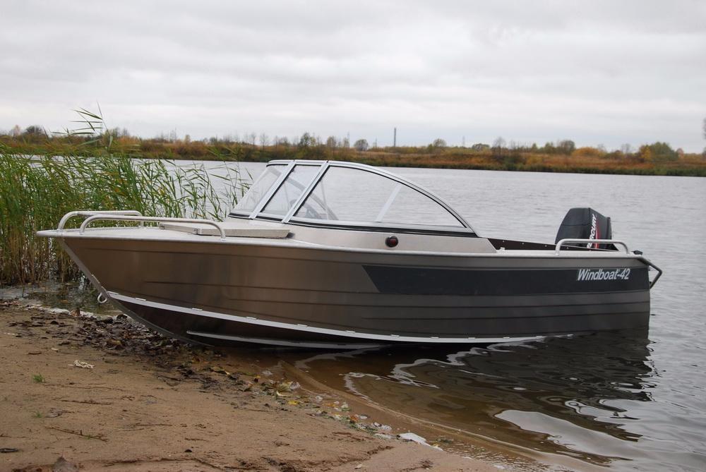 алюминиевая лодка windboat 42МЕ Херсон - изображение 1