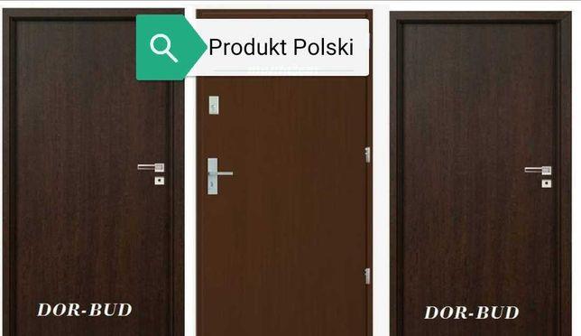 Zewnętrzne drzwi do mieszkania z Montażem, Produkt Polski