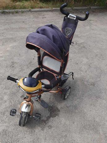 Дитячий триколісний велосипед  Crosser Trike + дощовик у  подарунок