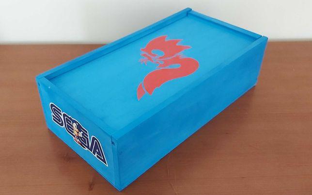 Caixa Customizada para Game Gear Sega