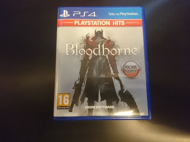 Bloodborne PS4 PL stan idealny