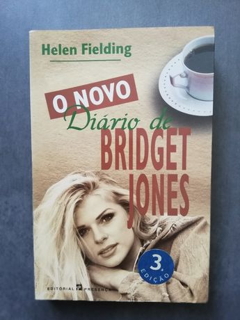 """Livro """"O novo diário de Bridget Jones"""" - Helen Fielding"""