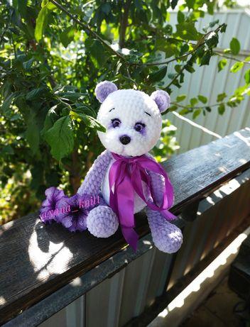 Панда игрушка медведь мишка ручная работа іграшки панда крючком
