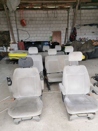 Kanapy fotele komplet vw t4 caravelle