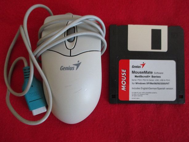 Disquete + GENIUS MOUSE Mate Software NetScroll+Series