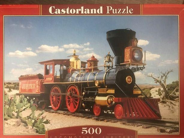 Пазлы Castorland 500 шт., отсутствует 1 угловой элемент