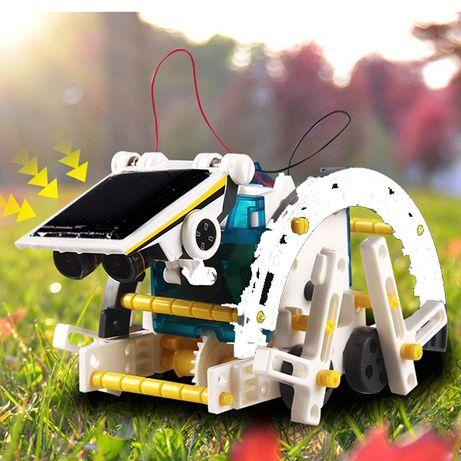 Игрушка Робот-конструктор на солнечных батареях 13 в 1 SOLAR ROBOT