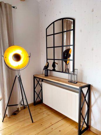 Konsola półka loft industrial szafki regały stoły, meble na zamowienie