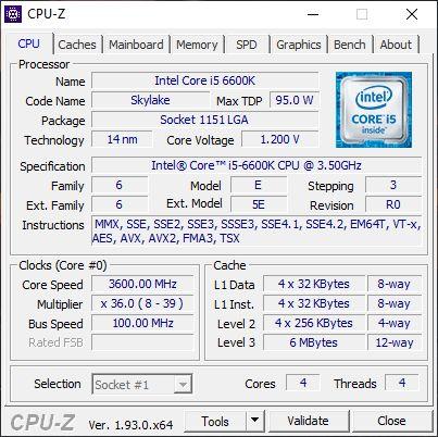 Zestaw i5-6600K + Gigabyte Z170 Gaming K3 + Silentium PC