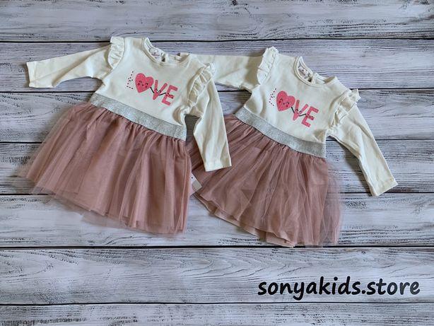 Плаття для дівчинки 6-24 місяців, платье для девочки