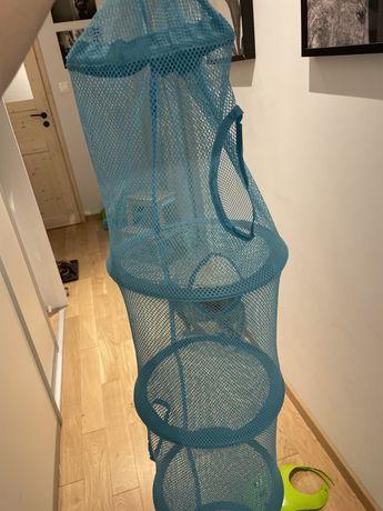 Ikea fanfst siatka wieszak na zabawki