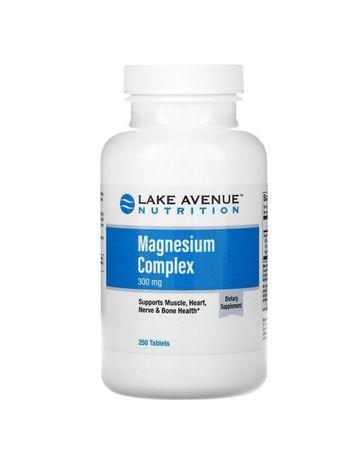 Комплекс магния 300 мг - 250 таблеток - США - Lake Avenue Nutrition