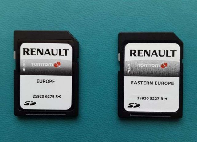 Karta do Renault Laguna Megane Scenic Clio po 2010 Carminat Live 2021 Olsztyn - image 1