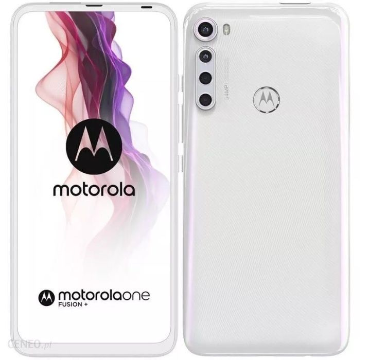 "Nowy ! Telefon Motorola One Fusion+ 6,5"" LTE 64 Mpx (R) Koszalin - image 1"