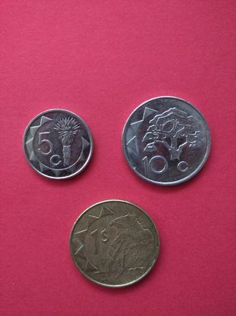 Набір монет Намібія