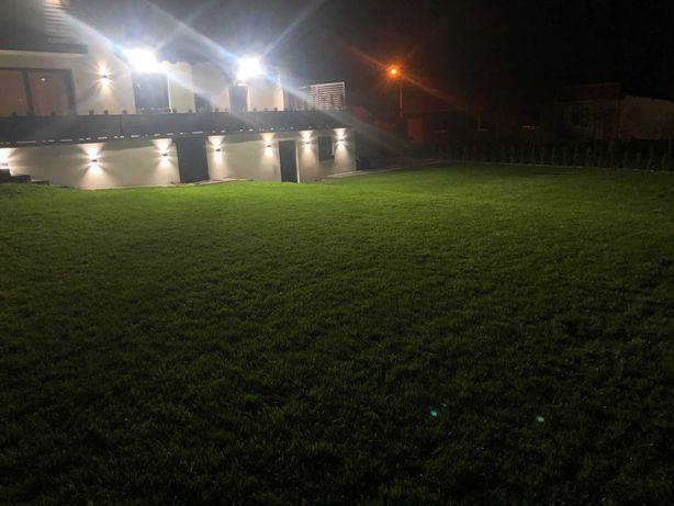 Glebogryzarka separacyjna, wycinanie darni, zakładanie ogrodu, trawnik