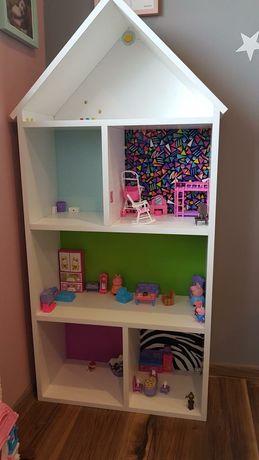 Przepiękny domek na zabawki dla dziecka