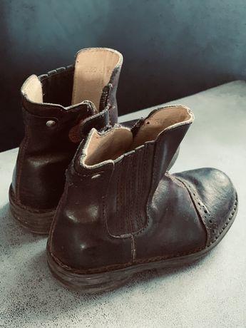 Ботинки кожаные унисекс!