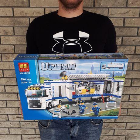 Конструктор Лего Сити Полиция Полицейский трейлер Bela 10420 394шт