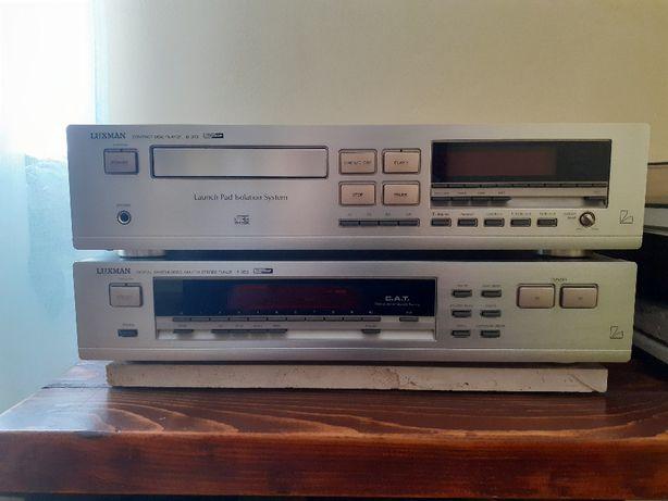 Odtwarzacz cd. Luxman D373 +Tuner T353.