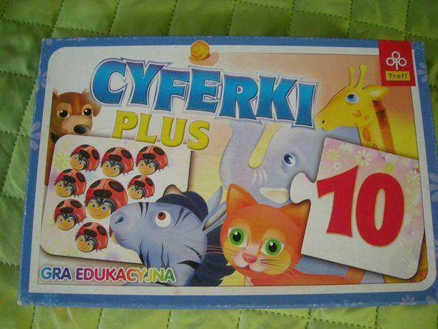 puzzle CYFERKI układanka