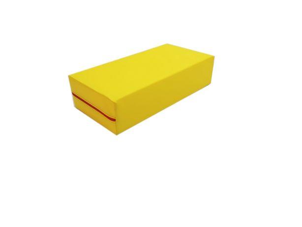 Kształtka rehabilitacyjna kostka klocek piankowy EKOSKÓRA 60x30x15