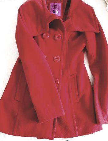 Płaszczyk damski czerwony S