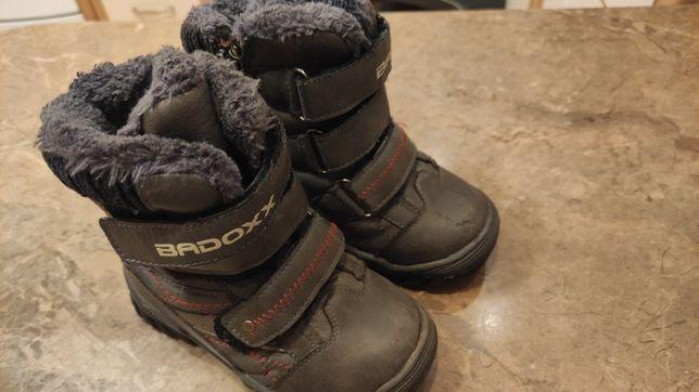 Buty zimowe śniegowce chłopięce firmy Badoxx rozmiar 28