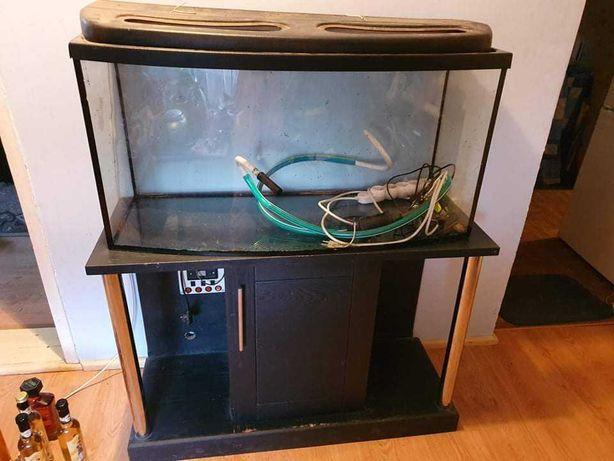 Akwarium wraz z szafką