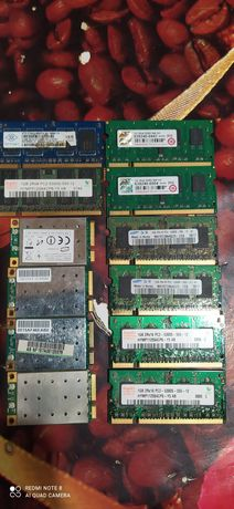 Оперативная память ddr2 512, 1gb, ddr3 wifi карты для ноутбука atheros