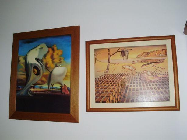 Quadro Salvador Dali - replica comprada no museu Dali