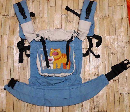 Эрго рюкзак переноска I love mum в отличном состоянии