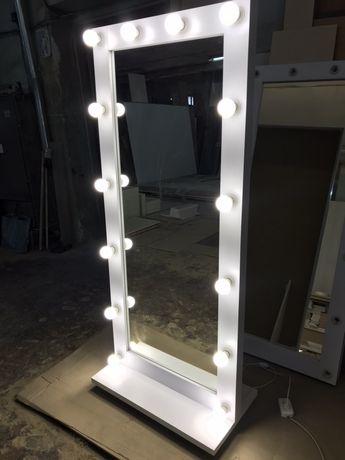 Зеркало с подсветкой напольное  , визажиста и домашних интерьеров.