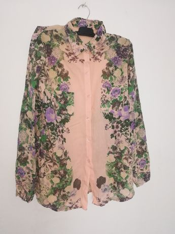 Koszula w kwiaty rozmiar M