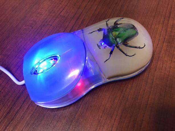 Myszka do laptopa i komputera wejscie USB
