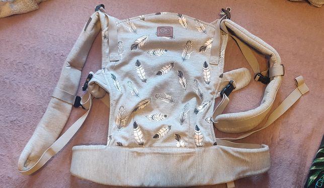 Nosidło nosidełko Kinderkraft Milo ergonomiczne szare