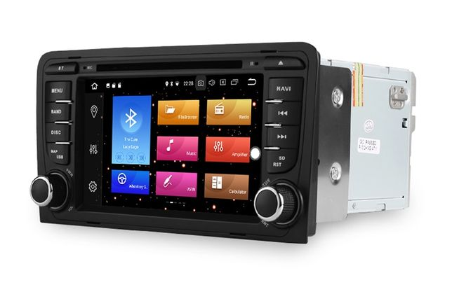 Radio AUDI A3 S3 8P Android 10 / 4GB DVD 2DIN PX5 RNS-E Dostawa 24H PL