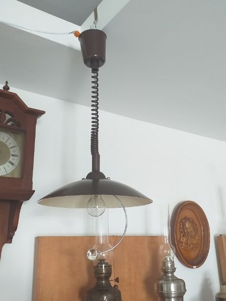 Ładna stara lampa kuchenna dł 50cm/100cm