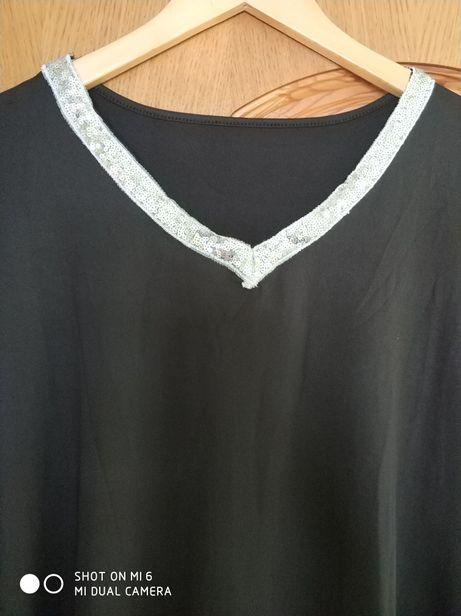 Блузка- футболка р.58
