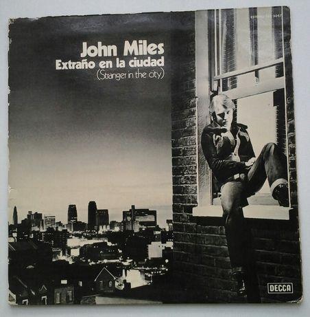 Disco LP em vinil de John Miles - Stranger in the city