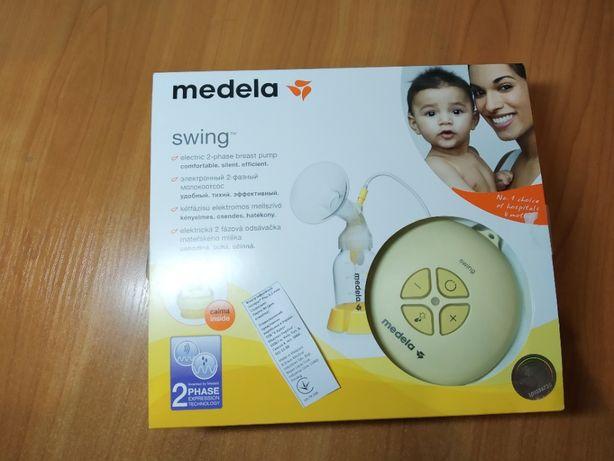 Двухфазный электрический молокоотсос Medela Swing + Кальма (смарт соск