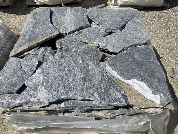 Płyty tarasowe kamienne kwarc szare