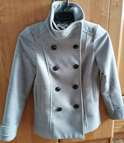 Szary płaszczyk H&M, 38