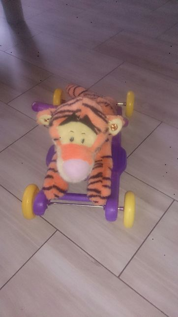 Tygrysek jeździk
