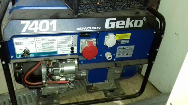 Бензиновый генератор geko 7401