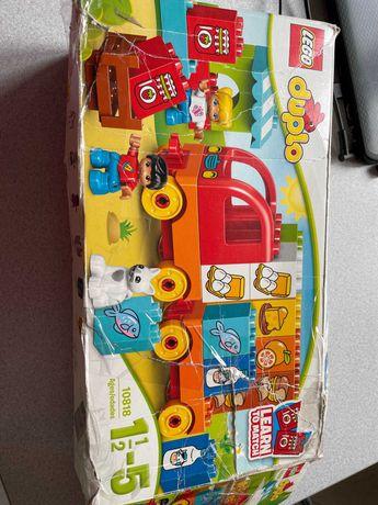 Моя перша вантажівка lego duplo