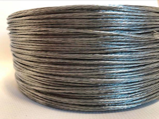 Linka galwanizowana drut plecionka do ogrodzenia elektrycznego