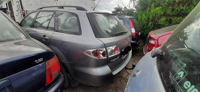 Mazda 6 I gg gy kombi części maska klapa drzwi kierowcy zderzak przód