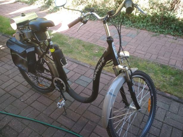 Rower - Nie elektryczny - spalinowy!!! 1,5L/100km